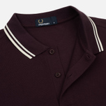 Мужское поло Fred Perry M3600 Twin Tipped Bramble/Snow White/Ecru фото- 2