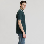 Мужское поло Fred Perry M3600 Twin Tipped Dark Pine/Snow White/Snow White фото- 2