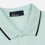 Мужское поло Fred Perry M3600 Twin Tipped Del La Mar/Snow White/Navy фото- 1