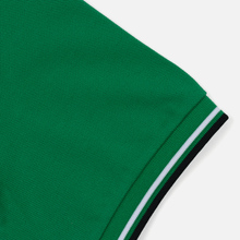 Мужское поло Fred Perry M3600 Twin Tipped Electric Green/White/Black фото- 3