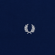 Мужское поло Fred Perry M3600 Twin Tipped Medieval Blue/Snow White/Snow White фото- 2