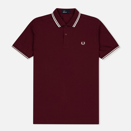 Мужское поло Fred Perry M3600 Twin Tipped Port/Ecru