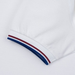 Мужское поло Fred Perry M3600 Twin Tipped White/Maroon/Regal фото- 3