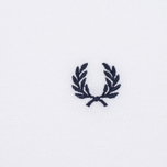 Мужское поло Fred Perry M3600 Twin Tipped White/Mid Ivy/French Navy фото- 2