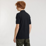 Мужское поло Fred Perry Panel Piped Pique Black/White фото- 3