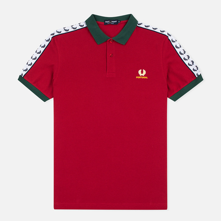 Fred Perry Men's Polo Portugal Country Blood