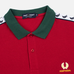 Мужское поло Fred Perry Portugal Country Blood фото- 1
