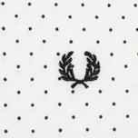 Мужское поло Fred Perry Printed Polka Dot Snow White фото- 2