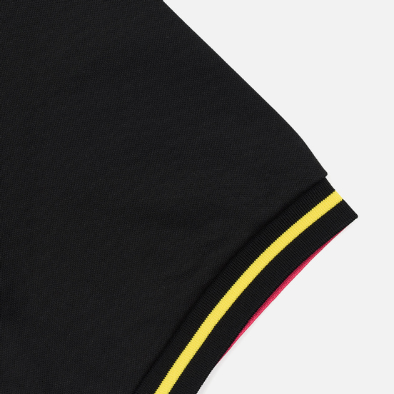 Мужское поло Fred Perry Process Colour Black