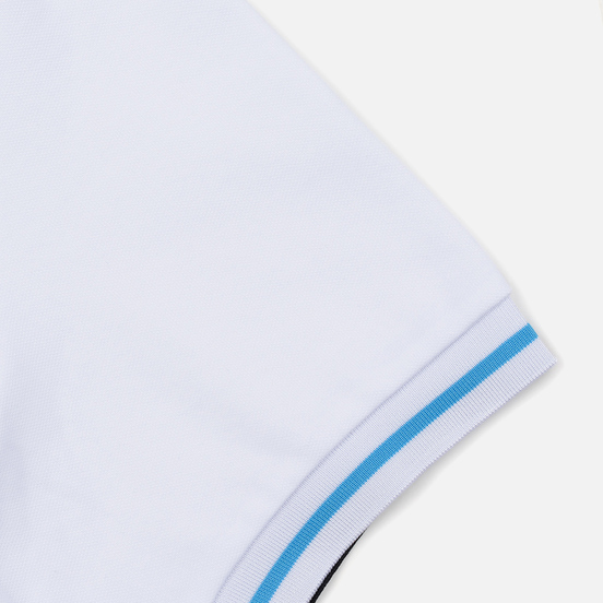 Мужское поло Fred Perry Process Colour White