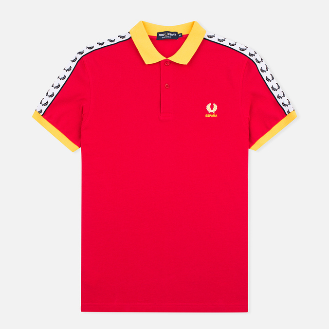Мужское поло Fred Perry Spain Country Red