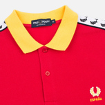 Мужское поло Fred Perry Spain Country Red фото- 1