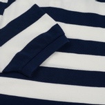 Мужское поло Fred Perry Striped Pique French Navy фото- 4