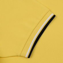 Мужское поло Fred Perry Twin Tipped Electric Yellow/White/Black фото- 3