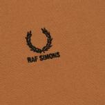 Мужское поло Fred Perry x Raf Simons Contract Collar Bronze фото- 3