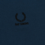 Мужское поло Fred Perry x Raf Simons Contract Collar Dark Blue фото- 3