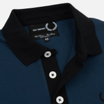 Мужское поло Fred Perry x Raf Simons Contract Collar Dark Blue фото- 2