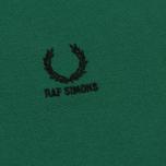 Мужское поло Fred Perry x Raf Simons Contract Collar Raf Green фото- 3