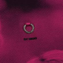 Мужское поло Fred Perry x Raf Simons Oversized Digital Print Pique Pop Pink фото- 2