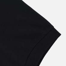 Мужское поло Fred Perry x Raf Simons Shoulder Print Black фото- 3
