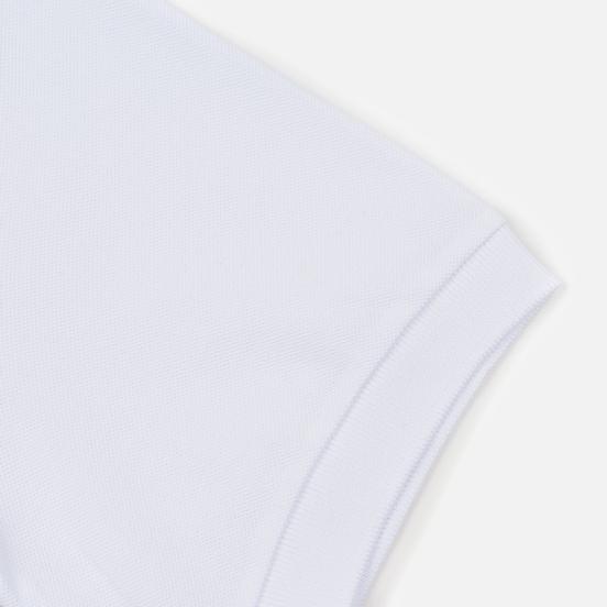 Мужское поло Fred Perry x Raf Simons Shoulder Print White