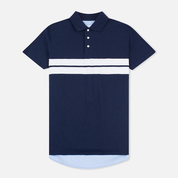 Gant Rugger Oxford Back Men's Polo Classic Blue