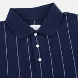 Мужское поло Gant Rugger Pinstriped Classic Blue фото- 1
