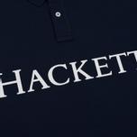 Мужское поло Hackett Classic Hackett Navy фото- 3