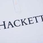 Мужское поло Hackett Classic Hackett White фото- 3