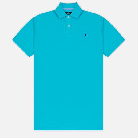 Мужское поло Hackett Classic Logo Aqua