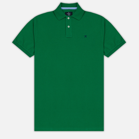Мужское поло Hackett Classic Logo Green