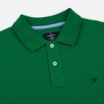 Мужское поло Hackett Classic Logo Green фото- 1