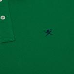 Мужское поло Hackett Classic Logo Green фото- 3