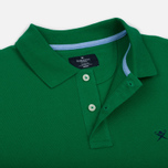 Мужское поло Hackett Classic Logo Green фото- 2