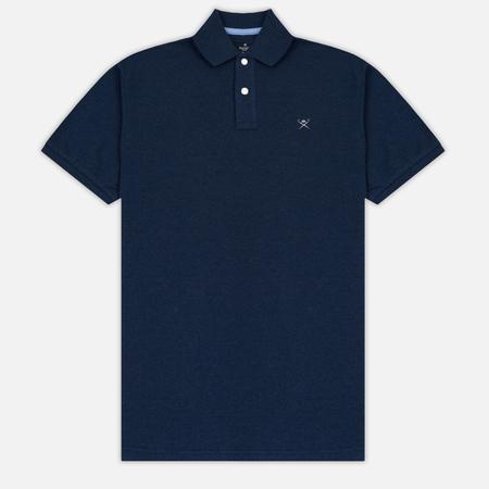 Мужское поло Hackett Classic Logo True Blue