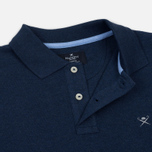 Мужское поло Hackett Classic Logo True Blue фото- 2