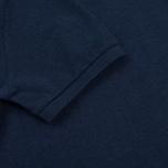 Мужское поло Hackett Classic Logo True Blue фото- 4