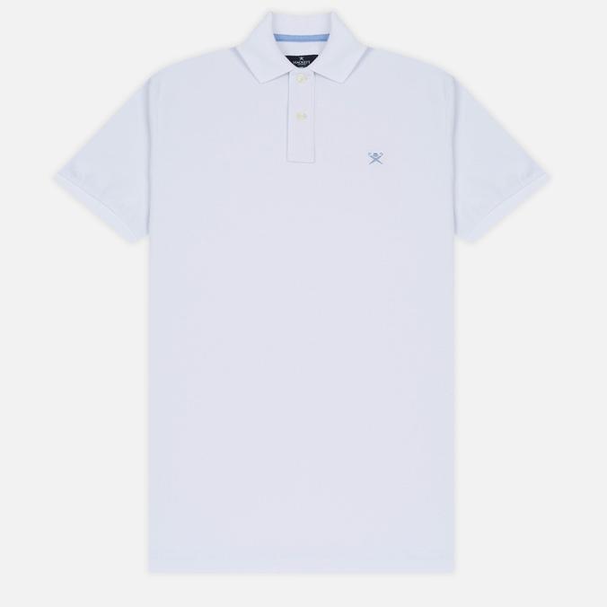 Мужское поло Hackett Classic Logo White