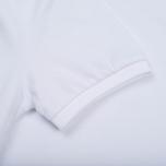 Мужское поло Hackett Classic Logo White фото- 4