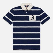 Мужское поло Hackett Logo HKT Star Rugby Ink фото- 0