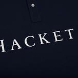 Мужское поло Hackett Multi Navy/Yellow фото- 3