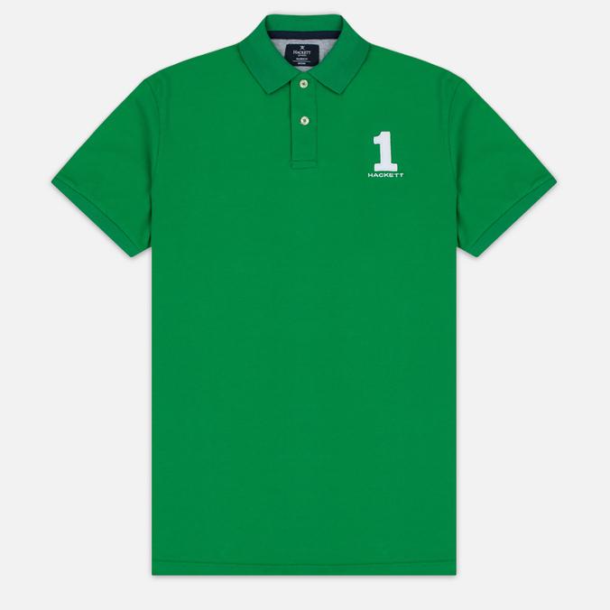 Мужское поло Hackett New Classic Green