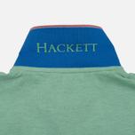 Мужское поло Hackett New Classic Green/Navy фото- 6