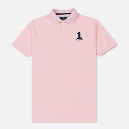 Мужское поло Hackett New Classic Light Pink