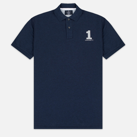 Hackett New Classic Men's Polo Navy/Grey