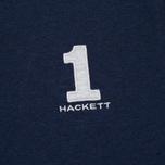 Мужское поло Hackett New Classic Navy/Grey фото- 2
