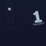 Мужское поло Hackett New Classic Navy/White фото- 3