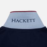 Мужское поло Hackett New Classic Navy/White фото- 6