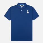 Hackett New Classic Number Men's Polo French Blue photo- 0
