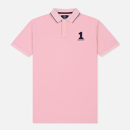 Мужское поло Hackett New Classic SS Light Pink